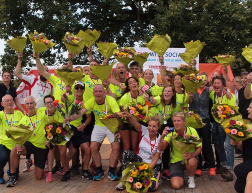 Team RIBW Brabant behaalt 1e plaats in Social Run