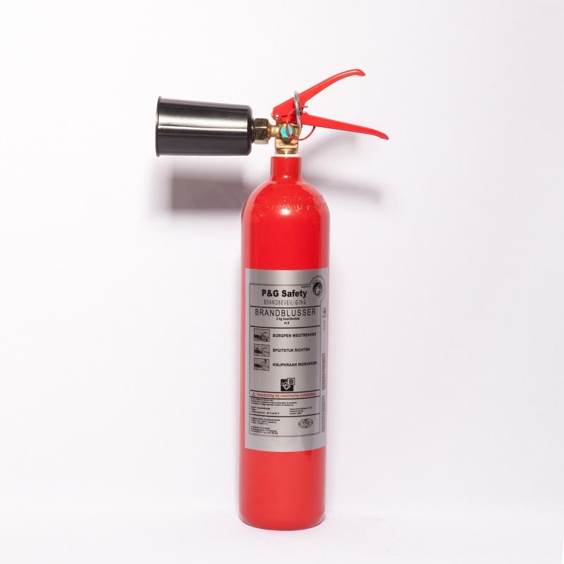 Brandblusser CO2 - 2kg